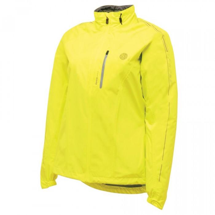 Moteriška dviratininko striukė Dare 2b Transpose Fluro Yellow