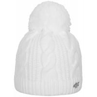 Moteriška žieminė kepurė 4F H4Z18 CAD012 white