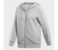 Moteriškas džemperis ADIDAS 3-STRIPES ZIP HOODIE DN8155
