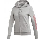 Moteriškas džemperis adidas W Essentials Linear FZ HD EI0663