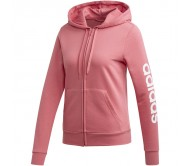Moteriškas džemperis adidas W Essentials Linear FZ HD EI0664