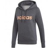 Moteriškas džemperis adidas W Essentials Linear OH HD FL EI0670