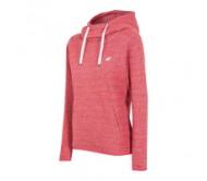 Moteriškas džemperis su gobtuvu 4F BLD002, rožinis