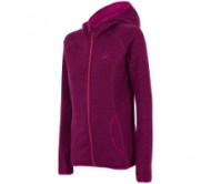 Moteriškas džemperis su gobtuvu 4F PLD002, violetinis