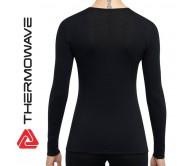 Moteriški Apatiniai Termo Marškinėliai THERMOWAVE Merino ONE50 Ilgomis Rankovėmis