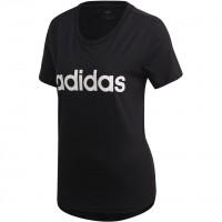Moteriški marškinėliai adidas Essentials Linear Slim Tee DP2361
