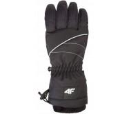 Moteriškos slidinėjimo pirštinės 4F H4Z18 RED003 black