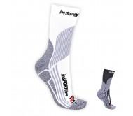 Moteriškos termo kojinės inSPORTline Brubeck, baltos