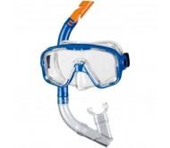Nardymo kaukė su vamzdeliu BECO 99006, mėlyna