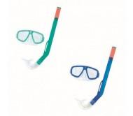 Nardymo rinkinys Bestway Hydro-Swim Fun Snorkel, įvairių sp., nardymo akiniai, vamzdelis