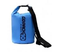 Neperšlampamas krepšys Gopack 10L  mėlynas