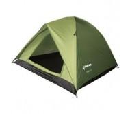 Palapinė King Camp Tent Family 2 plius 1 žalia