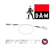 Pavadėliai DAM FZ Titanium 20cm 7kg