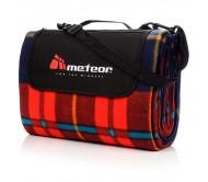 Pikniko kilimėlis METEOR 180x200 cm, raudonos kaladėlės