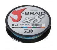 Pintas Valas J-BRAID X8 0.20mm 150m Multicolor