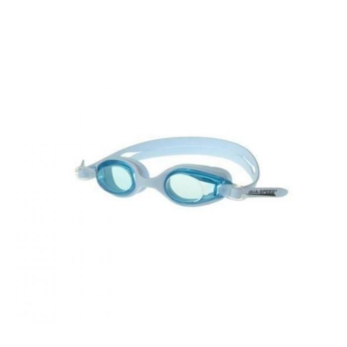 Plaukimo akiniai Aqua-Speed Ariadna, šviesiai mėlyni