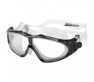 Plaukimo akiniai AQUA SPEED SIROCCO, juodi