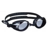 Plaukimo akiniai BECO TRAINING, juodi