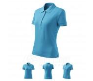 Polo marškinėliai ADLER Cotton Blue Atol, moteriški