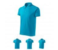Polo marškinėliai ADLER Cotton Blue Atol, vyriški