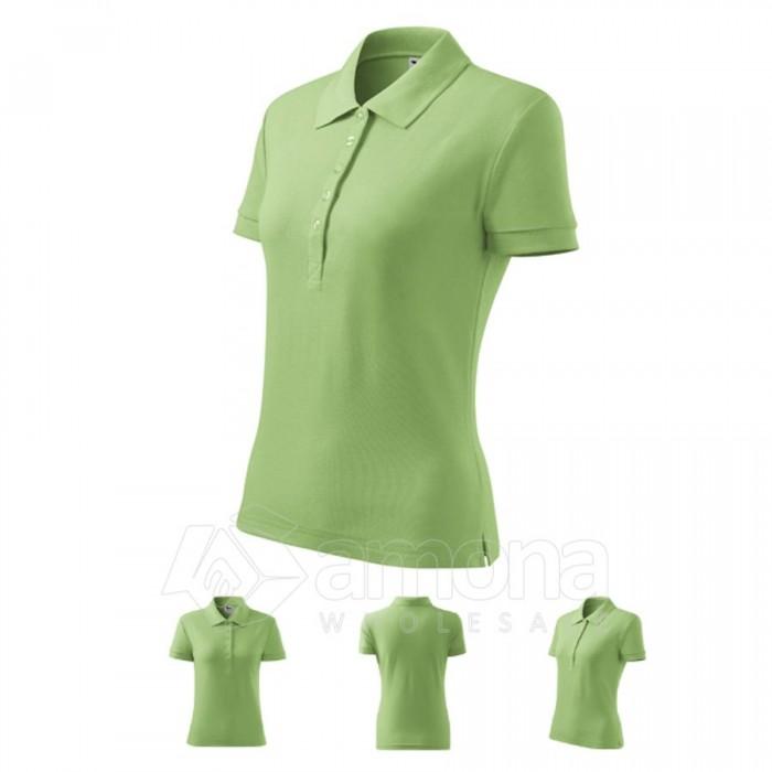 Polo marškinėliai ADLER Cotton Grass Green, moteriški