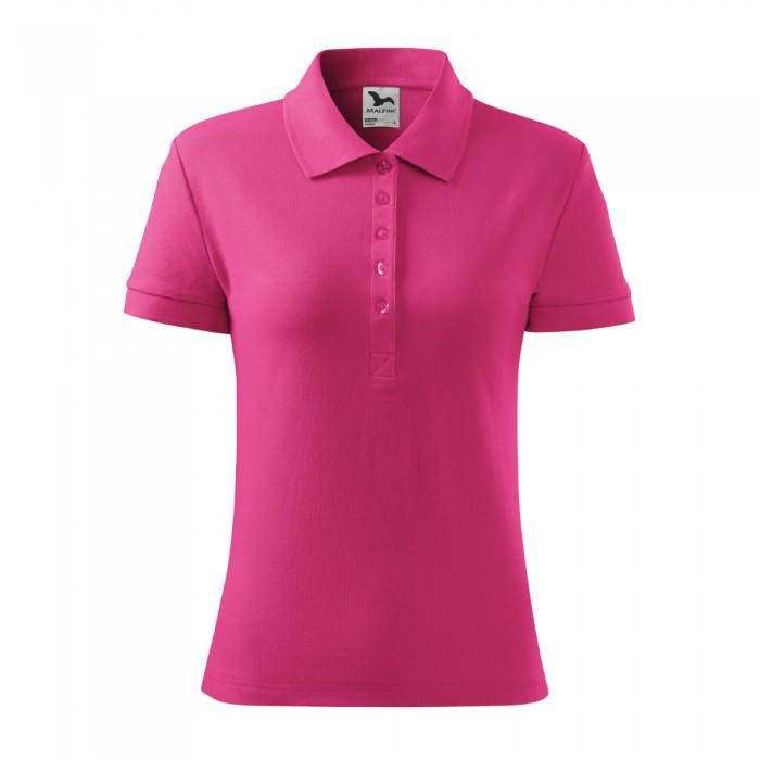 Polo marškinėliai ADLER Cotton Magenta, moteriški
