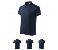 Polo marškinėliai ADLER Cotton Navy Blue, vyriški