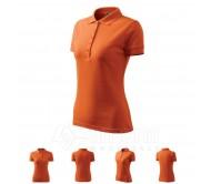 Polo marškinėliai ADLER Pique Polo Orange, moteriški