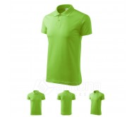 Polo marškinėliai ADLER Single J. Apple Green, unisex