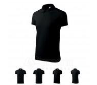 Polo marškinėliai ADLER Single J. Black, unisex