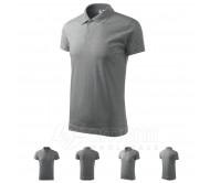 Polo marškinėliai ADLER Single J. Dark Gray Melange, unisex