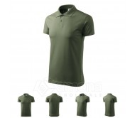 Polo marškinėliai ADLER Single J. Khaki, unisex