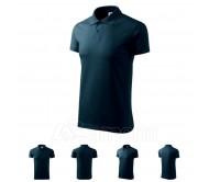 Polo marškinėliai ADLER Single J. Navy Blue, unisex