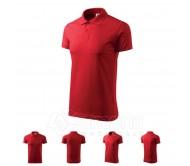 Polo marškinėliai ADLER Single J. Red, unisex