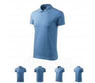 Polo marškinėliai ADLER Single J. Sky Blue, unisex