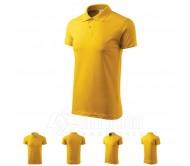 Polo marškinėliai ADLER Single J. Yellow, unisex