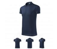 Polo marškinėliai ADLER Victory Navy Blue, unisex