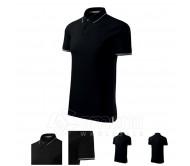 Polo marškinėliai MALFINI Perfection plain Black, vyriški
