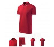 Polo marškinėliai MALFINI Perfection plain Formula Red, vyriški
