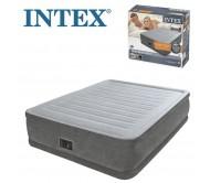 Pripučiamas čiužinys INTEX Comfort Plush Elevated Air Bed Queen Size, 203 x 152 x 46 cm