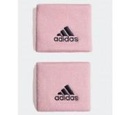 Raištis riešui adidas SMALL 2 vnt. DU8463 pink, navy logo