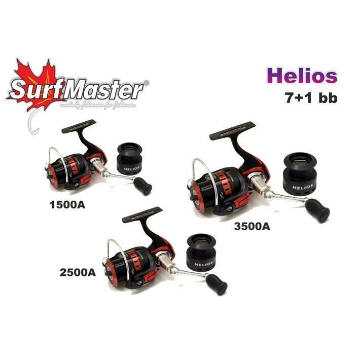 Ritė Surf Master Helios HE 2500A 7+1bb
