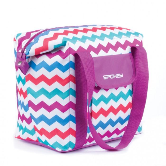 Paplūdimio krepšys Spokey SAN REMO, violetinis