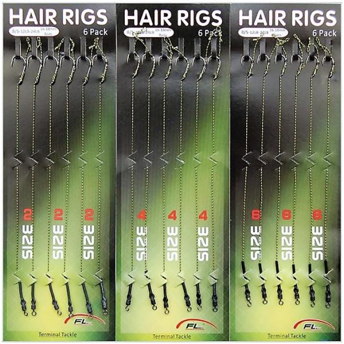Sistemėlės karpinės HAIR RIGS 6vnt