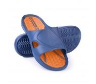 Šlepetės Spokey ORBIT, mėlyna/oranžinė