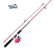 Spiningas su rite Jarvis Walker Pink Zenith 1.8M