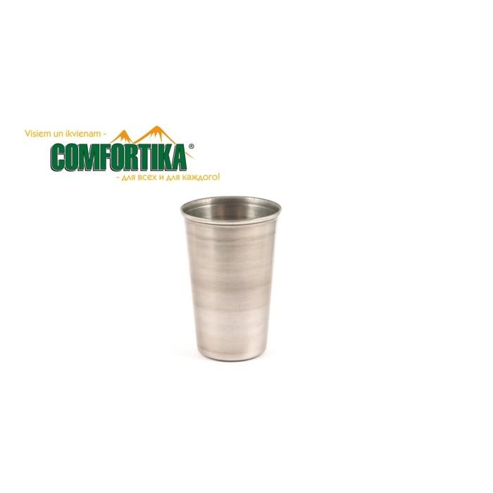 Stiklinė metalinė Comfortika 0.26l