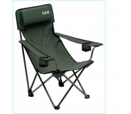 Kėdė DAM Foldable Chair with Back Padded 60x60x92cm