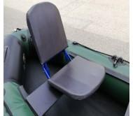 Sulenkiama kėdė į valtį su sukimosi mechanizmu