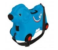 Lagaminas šuniuko formos ''Bobby'' mėlynas